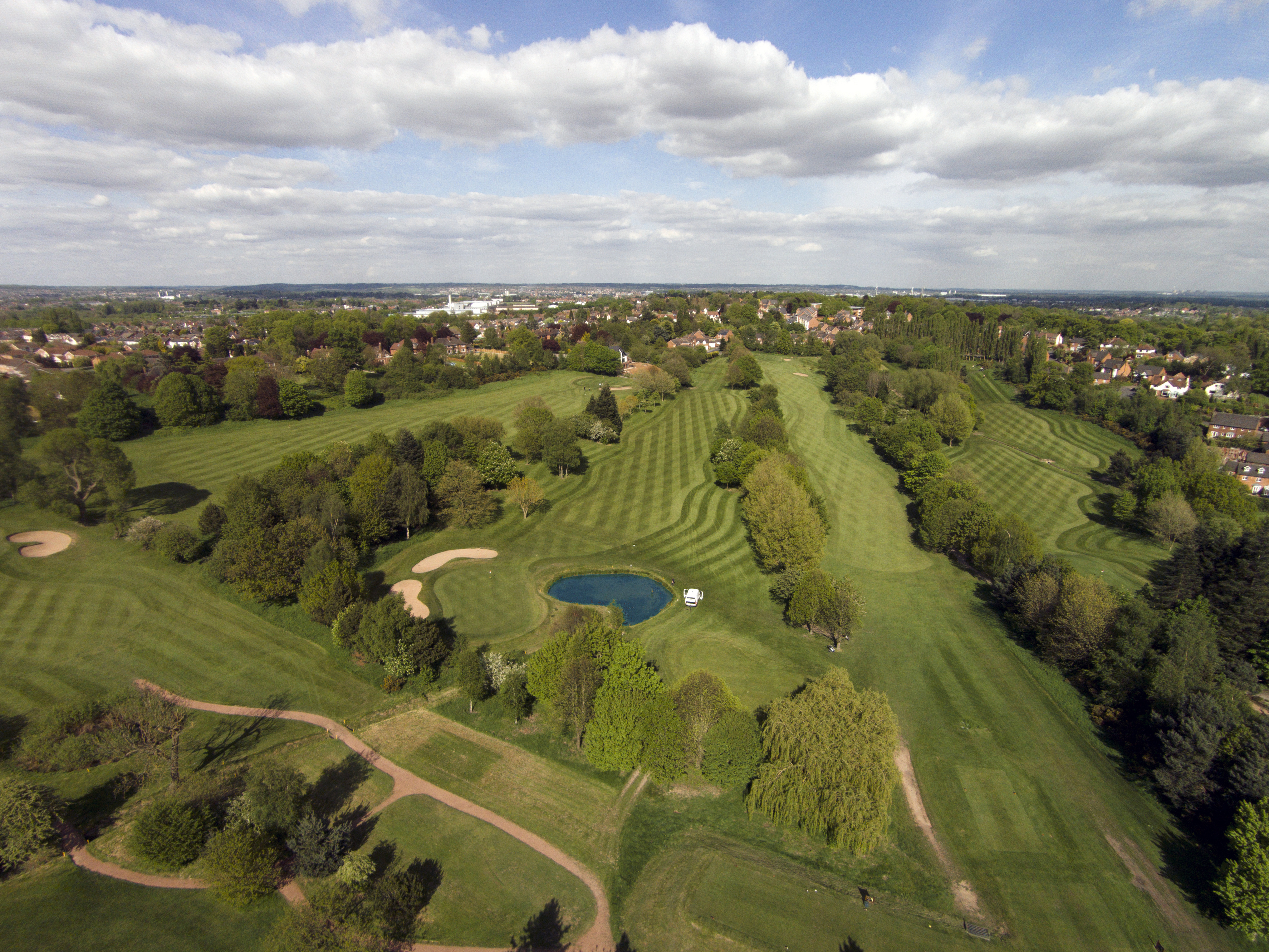 Top Tips for Golf Course Aerial Photography and Video - Sky